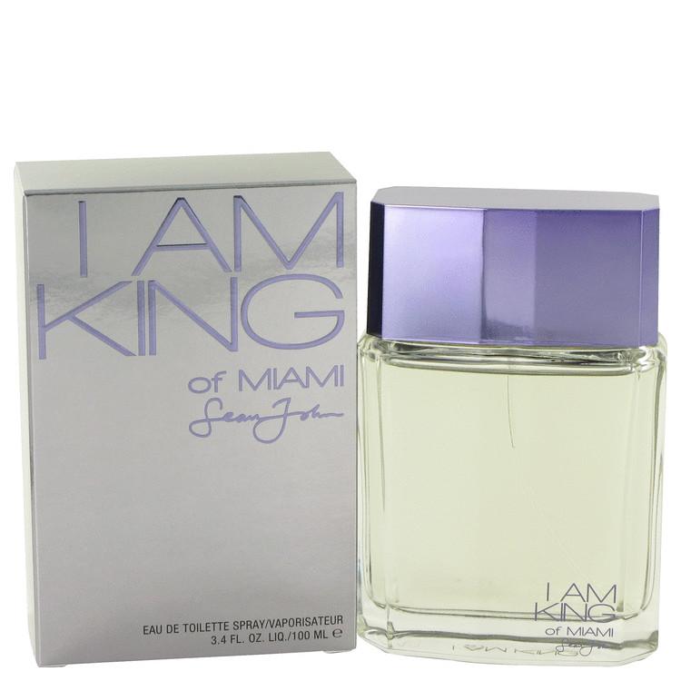 I Am King of Miami by Sean John for Men Eau De Toilette Spray 3.4 oz