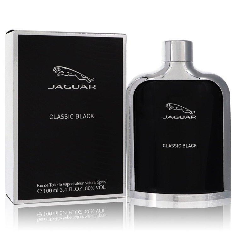 Jaguar Classic Black by Jaguar for Men Eau De Toilette Spray 3.4 oz