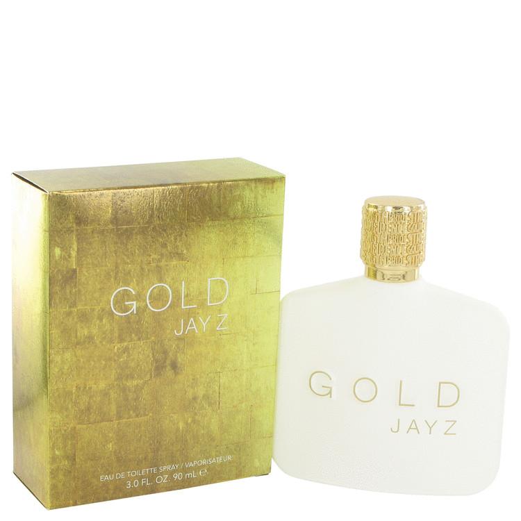 Gold Jay Z by Jay-Z for Men Eau De Toilette Spray 3 oz