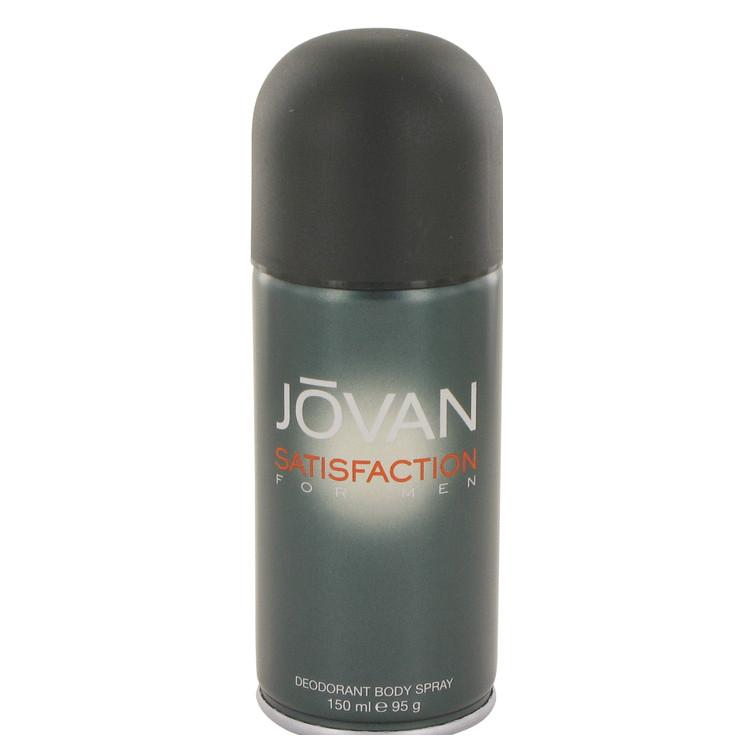 Jovan Satisfaction by Jovan for Men Deodorant Spray 5 oz