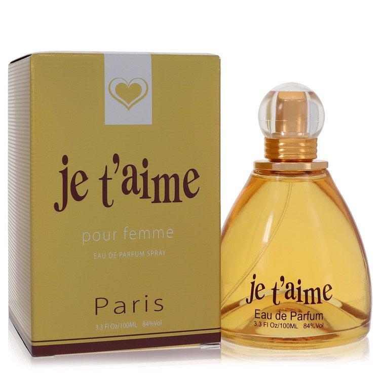 Je T'aime by YZY Perfume for Women Eau De Parfum Spray 3.3 oz
