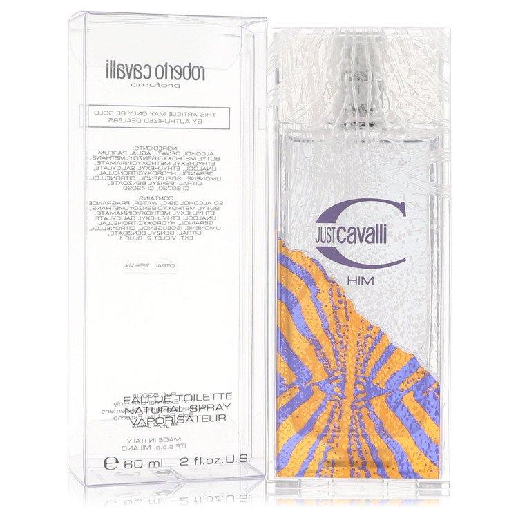 Just Cavalli by Roberto Cavalli for Men Eau De Toilette Spray 2 oz