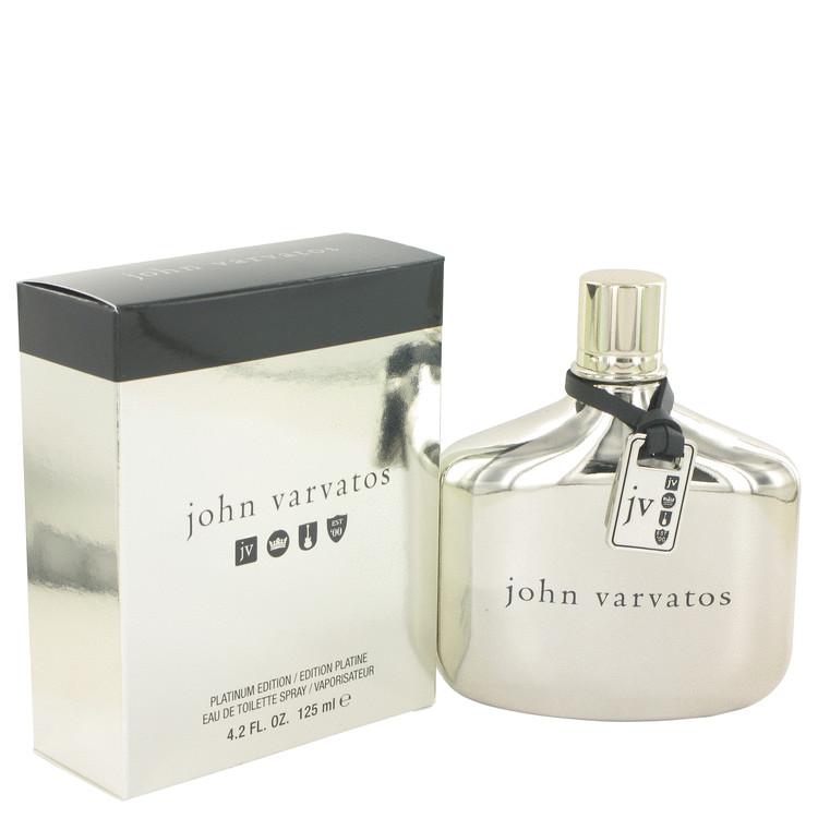 John Varvatos Platinum by John Varvatos for Men Eau De Toilette Spray 4.2 oz