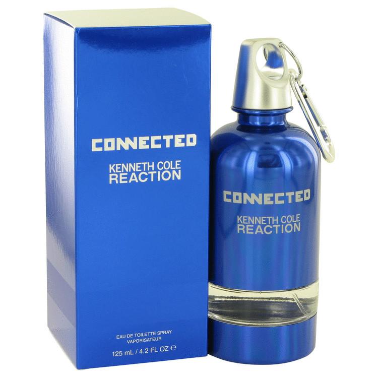 Kenneth Cole Reaction Connected by Kenneth Cole for Men Eau De Toilette Spray 4.2 oz