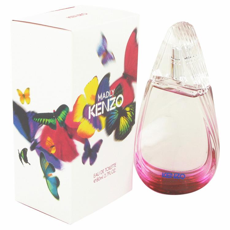 Madly Kenzo by Kenzo for Women Eau De Parfum Spray 2.7 oz