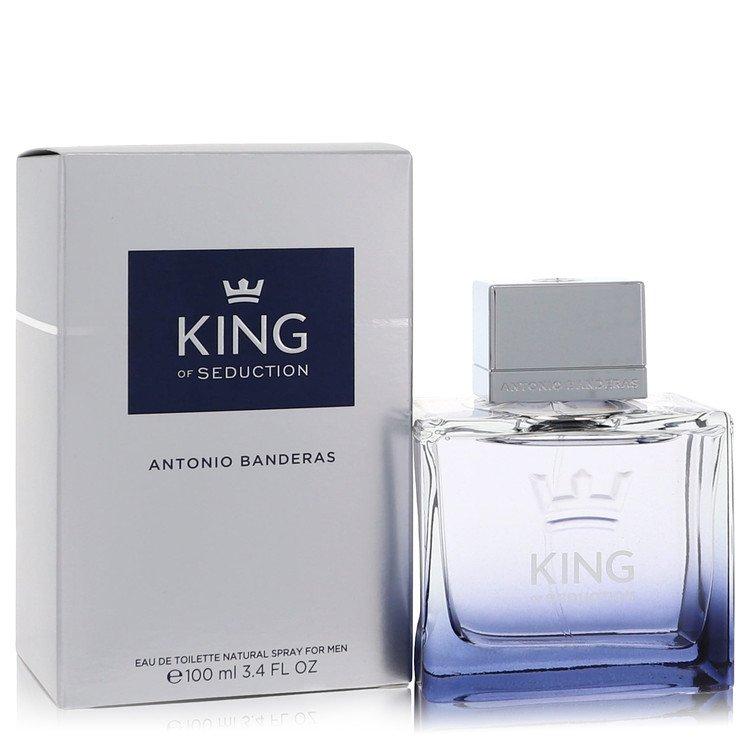 King of Seduction by Antonio Banderas for Men Eau De Toilette Spray 3.4 oz