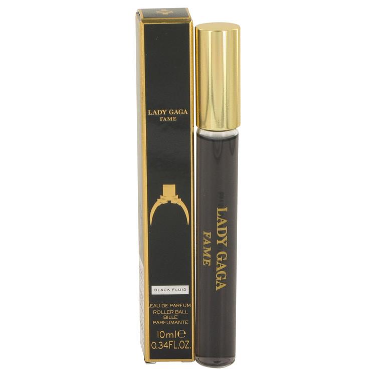 Lady Gaga Fame Black Fluid by Lady Gaga for Women EDP Rollerball .34 oz