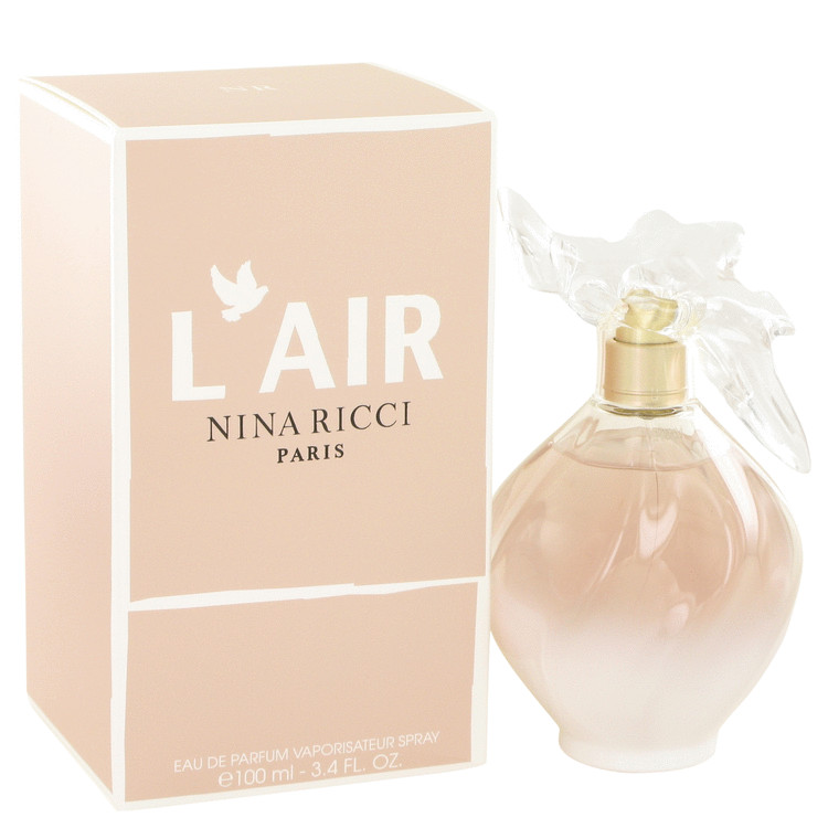 L'air by Nina Ricci for Women Eau De Parfum Spray 3.4 oz