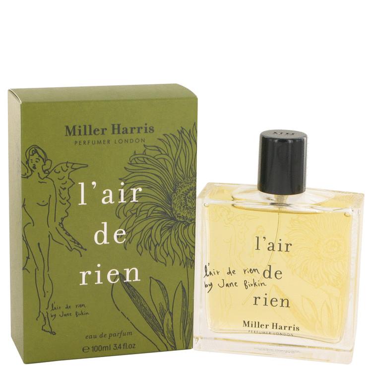 L'air De Rien by Miller Harris for Women Eau De Parfum Spray 3.4 oz