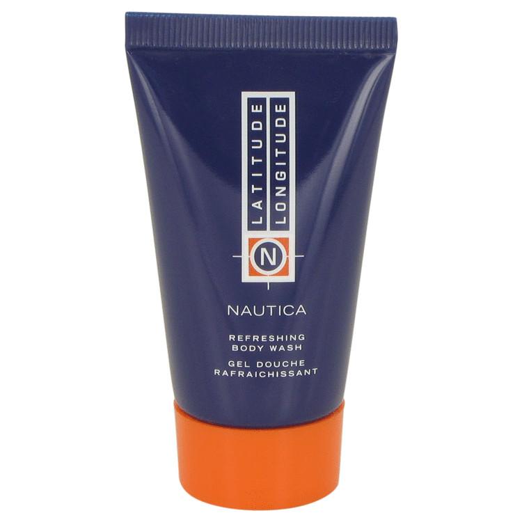 LATITUDE LONGITUDE by Nautica for Men Body Wash Shower Gel 1 oz