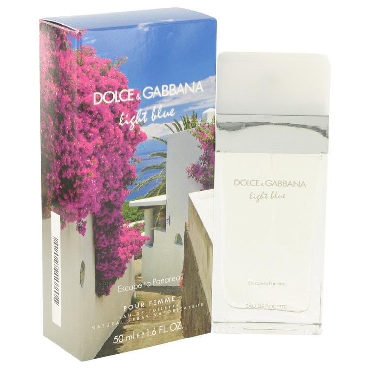Light Blue Escape to Panarea by Dolce & Gabbana for Women Eau De Toilette Spray 1.6 oz