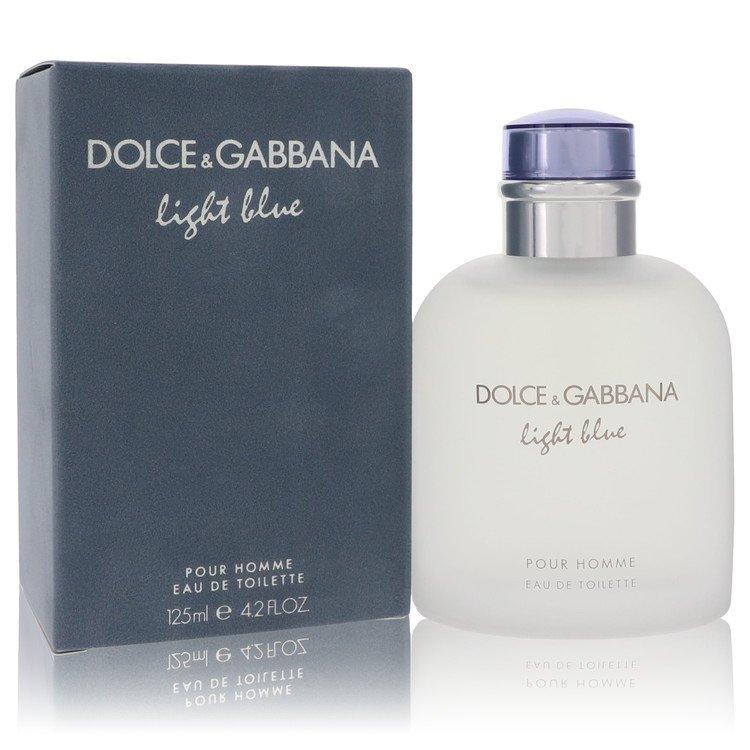 Light Blue by Dolce & Gabbana for Men Eau De Toilette Spray 4.2 oz