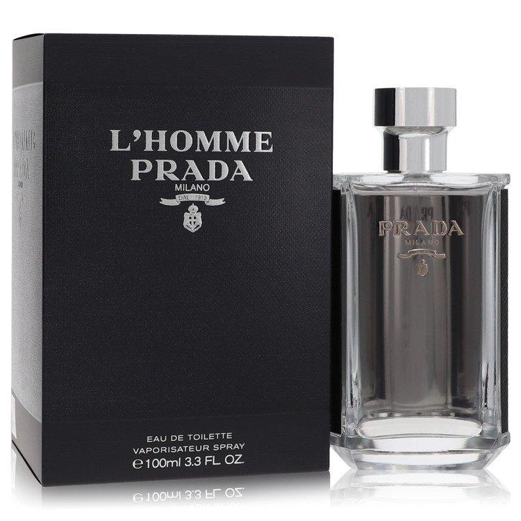 L'homme Prada by Prada for Men Eau De Toilette Spray 3.4 oz