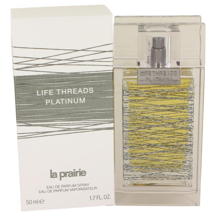 Life Threads Platinum by La Prairie for Women Eau De Parfum Spray 1.7 oz