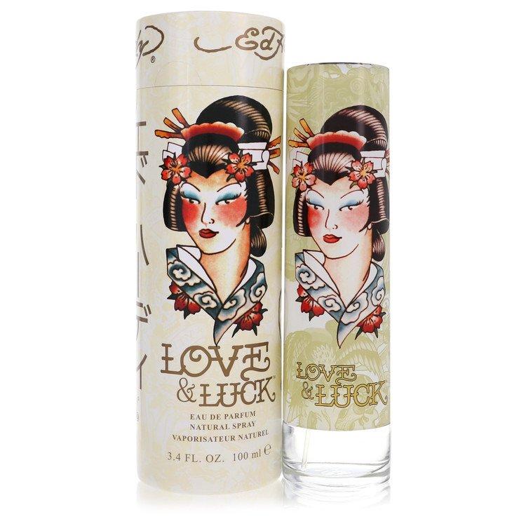 Love & Luck by Christian Audigier for Women Eau De Parfum Spray 3.4 oz