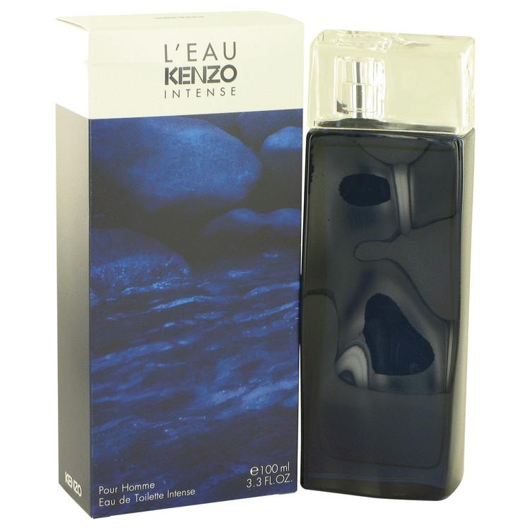 L'eau Par Kenzo Intense by Kenzo for Men Eau De Toilette Spray 3.3 oz