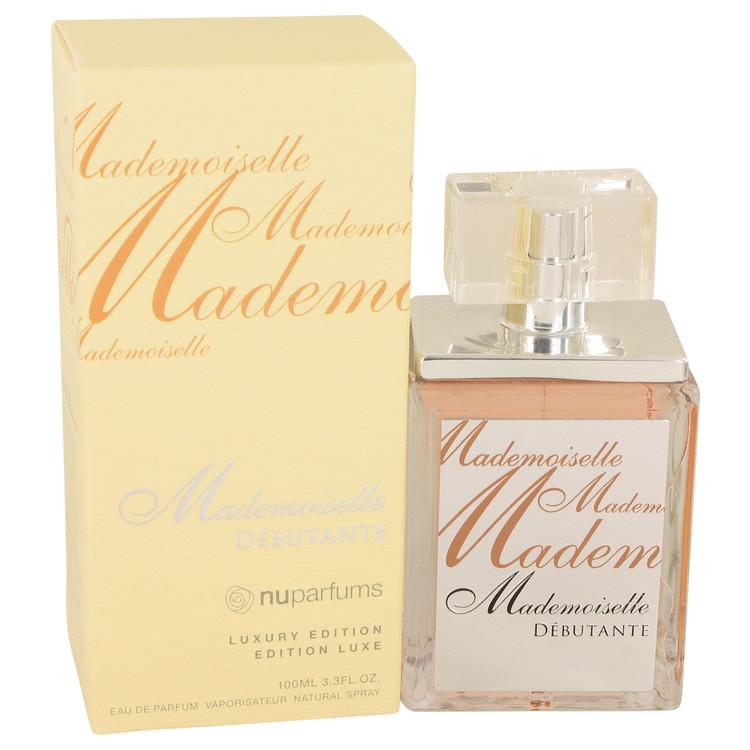 Mademoiselle Debutante by Nu Parfums for Women Eau De Parfum Spray 3.3 oz