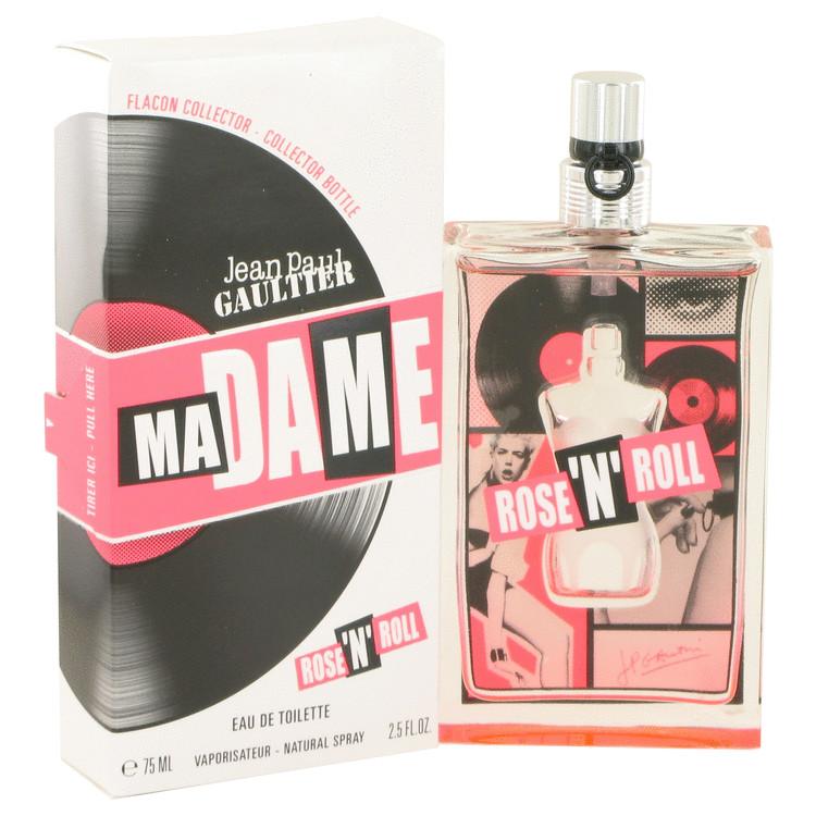 MaDame Rose 'N' Roll by Jean Paul Gaultier for Women Eau De Toilette Spray 2.5 oz