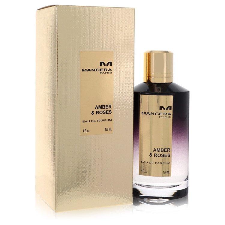 Mancera Amber & Roses by Mancera for Women Eau De Parfum Spray (Unisex) 4 oz