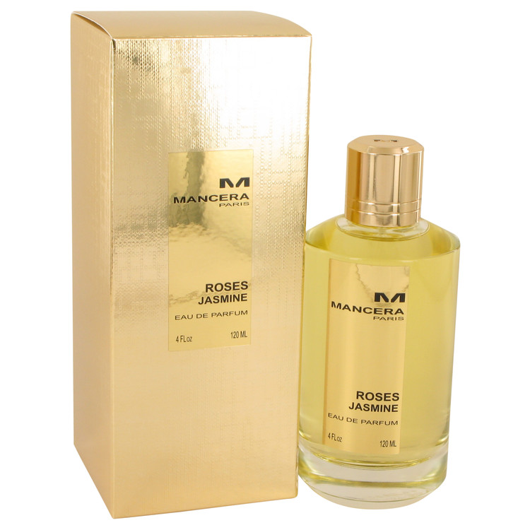 Mancera Roses Jasmine by Mancera for Women Eau De Parfum Spray 4 oz