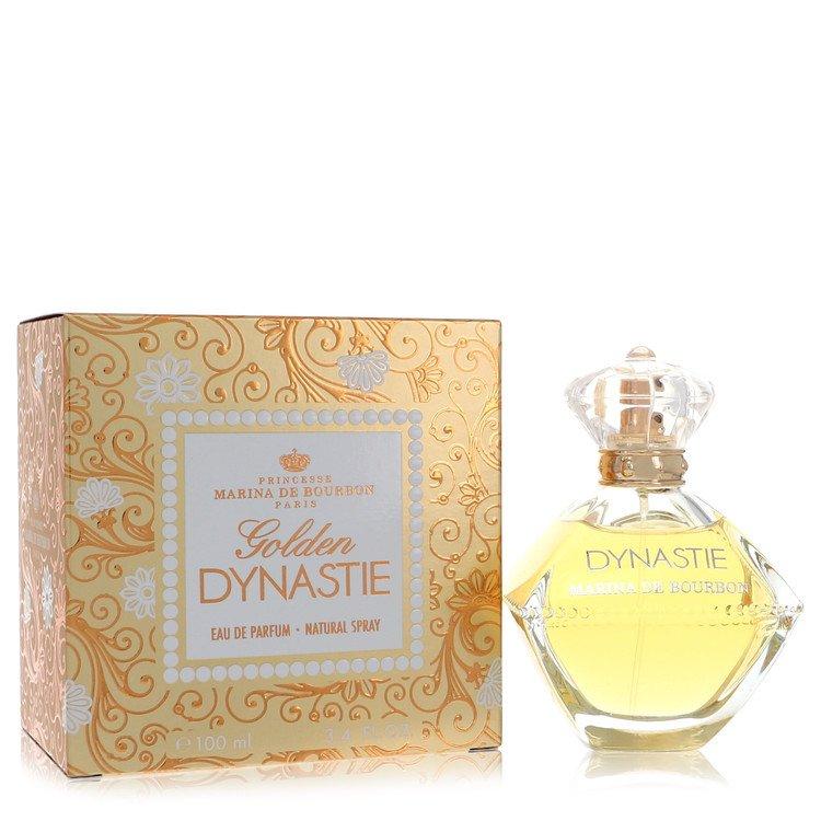 Golden Dynastie by Marina De Bourbon for Women Eau De Parfum Spray 3.4 oz