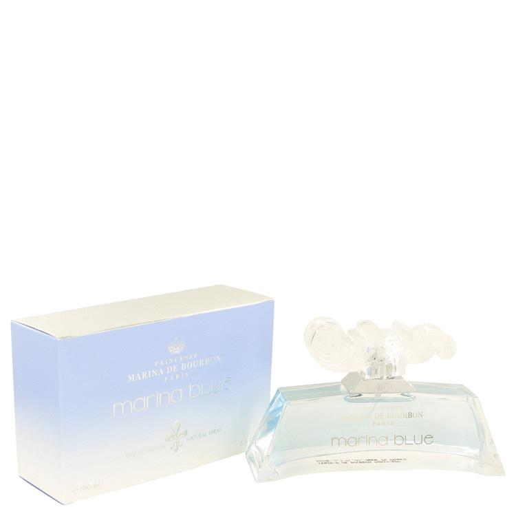 Marina Blue by Marina De Bourbon for Women Eau De Parfum Spray 3.3 oz
