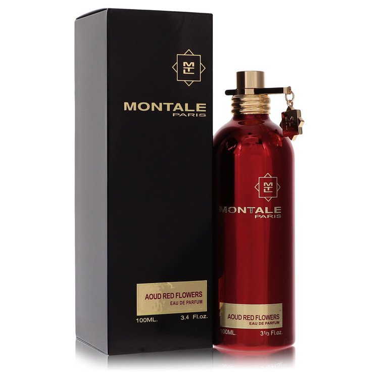 Montale Aoud Red Flowers by Montale for Women Eau De Parfum Spray 3.3 oz