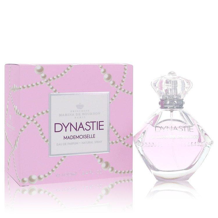 Marina De Bourbon Dynastie Mademoiselle by Marina De Bourbon for Women Eau De Parfum Spray 3.4 oz