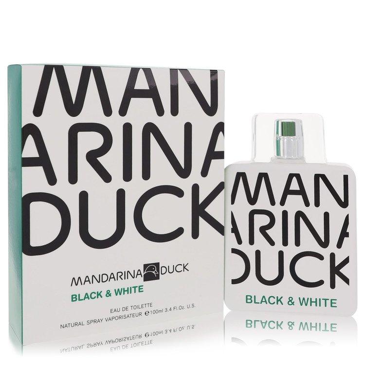 Mandarina Duck Black & White by Mandarina Duck for Men Eau De Toilette Spray 3.4 oz
