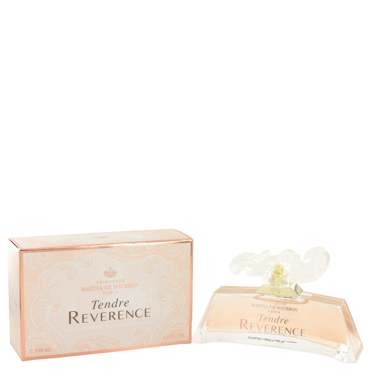 Tendre Reverence by Marina De Bourbon for Women Eau De Parfum Spray 3.4 oz