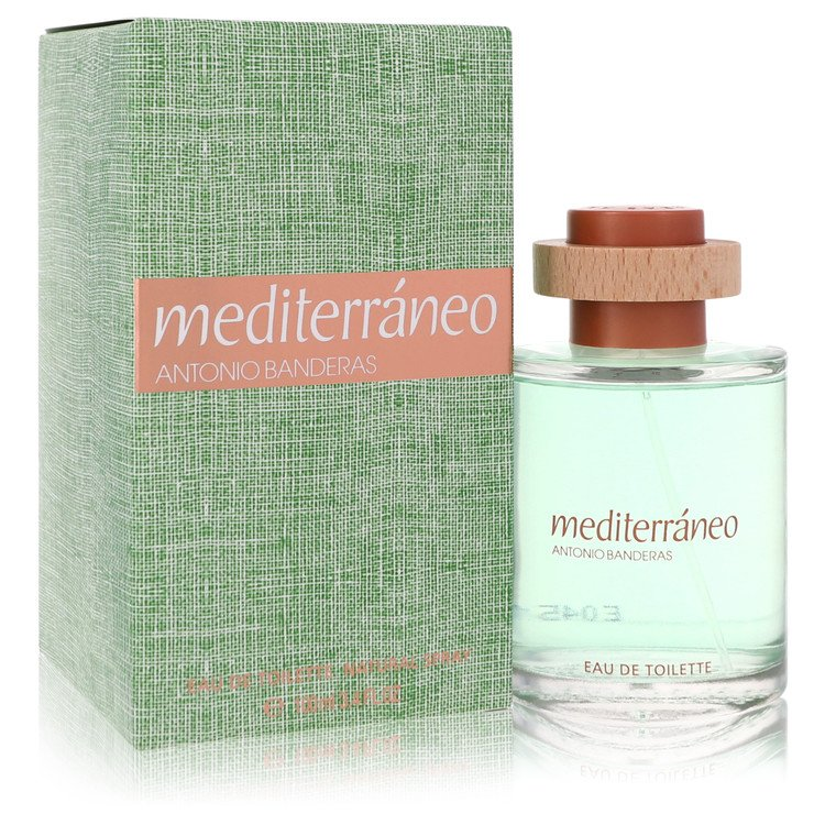 Mediterraneo by Antonio Banderas for Men Eau De Toilette Spray 3.4 oz