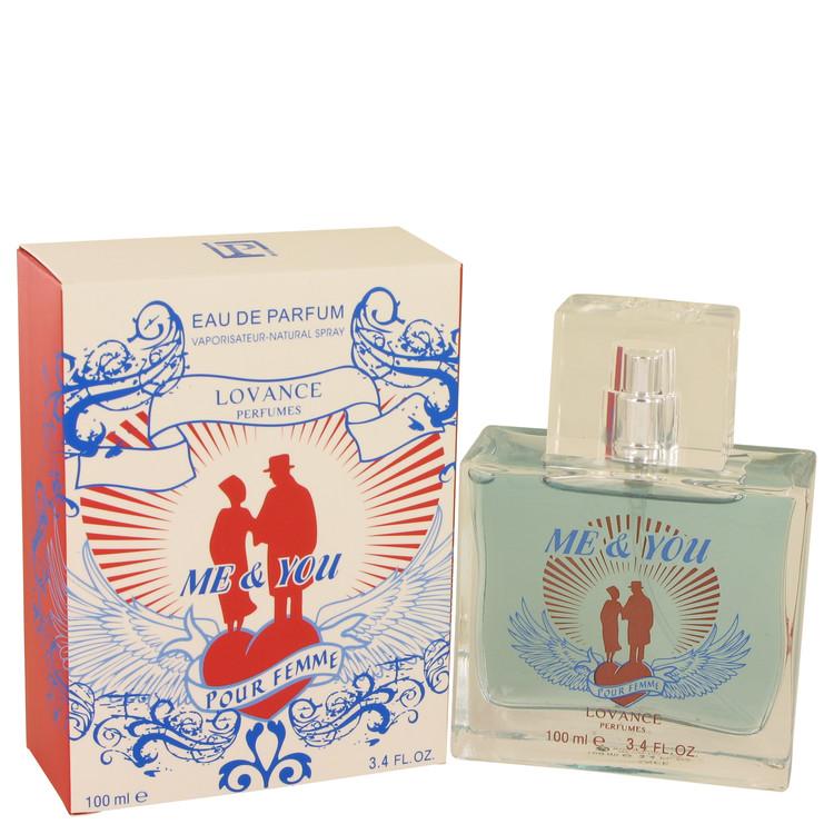 Me & You by Lovance for Women Eau De Parfum Spray 3.3 oz