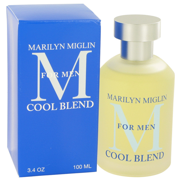 Marilyn Miglin Cool Blend by Marilyn Miglin for Men Cologne Spray 3.4 oz