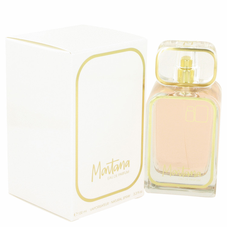Montana 80's by Montana for Women Eau De Parfum Spray 3.3 oz