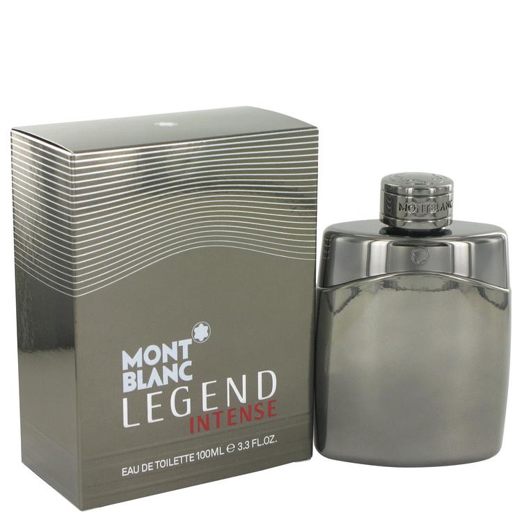 Montblanc Legend Intense by Mont Blanc for Men Eau De Toilette Spray 3.4 oz