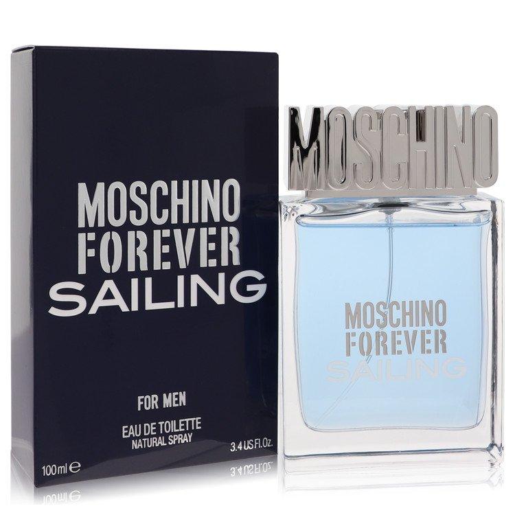 Moschino Forever Sailing by Moschino for Men Eau De Toilette Spray 3.4 oz