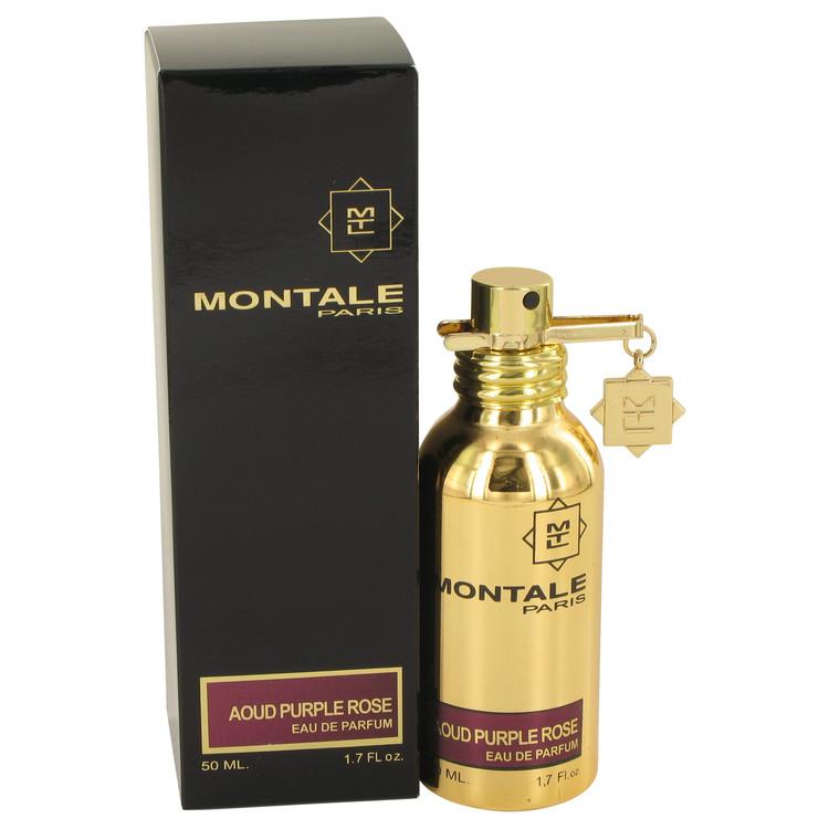 Montale Aoud Purple Rose by Montale for Women Eau De Parfum Spray (Unisex) 1.7 oz