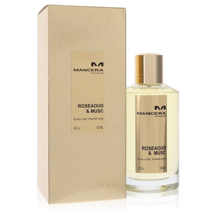 Mancera Roseaoud & Musc by Mancera for Women Eau De Parfum Spray 4 oz
