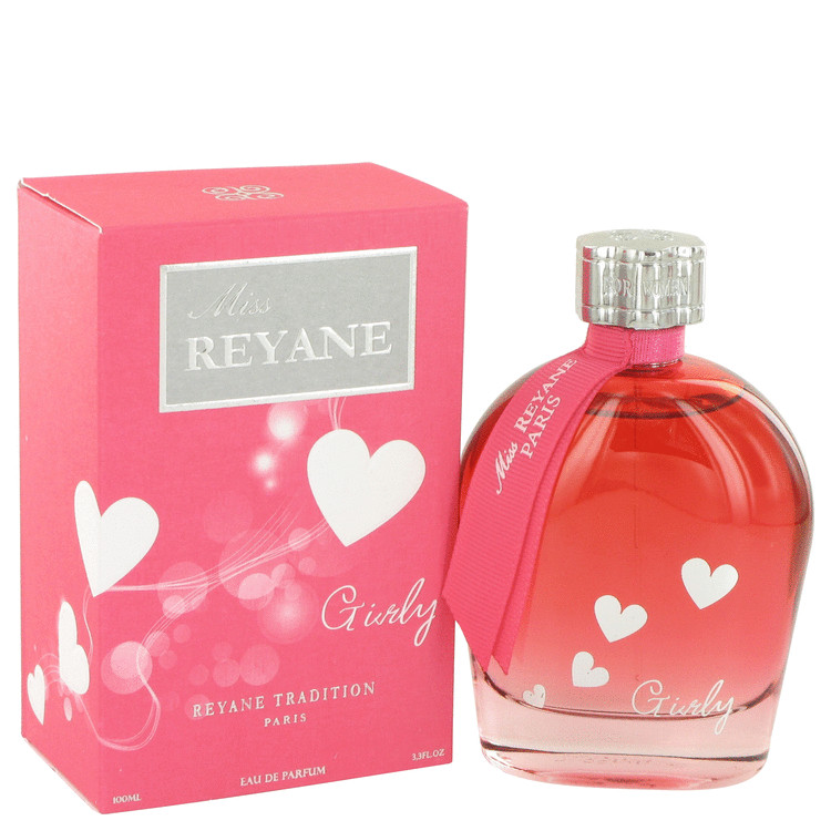 Miss Reyane Girly by Reyane Tradition for Women Eau De Parfum Spray 3.3 oz