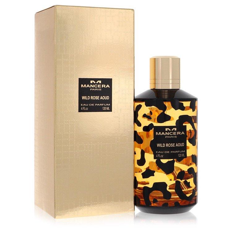Mancera Wild Rose Aoud by Mancera for Women Eau De Parfum Spray 4 oz