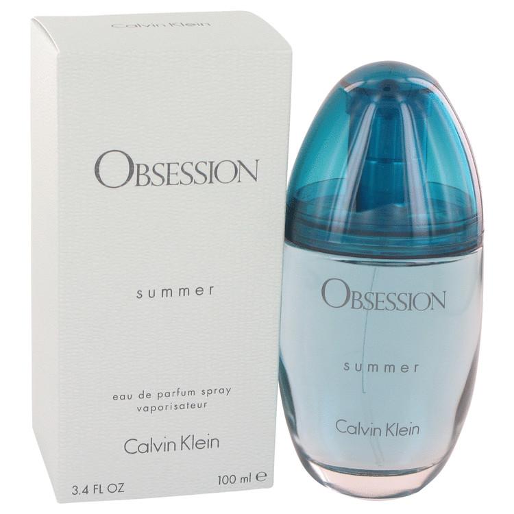 Obsession Summer by Calvin Klein for Women Eau De Parfum Spray (2016) 3.4 oz