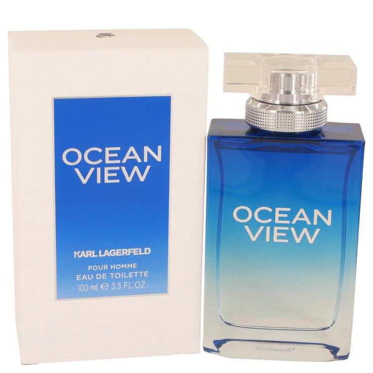 Ocean View by Karl Lagerfeld for Men Eau De Toilette Spray 3.3 oz