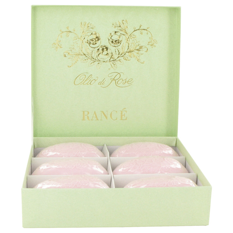 Rance Soaps by Rance for Women Olio Di Rose Soap Box 6 x 3.5 oz