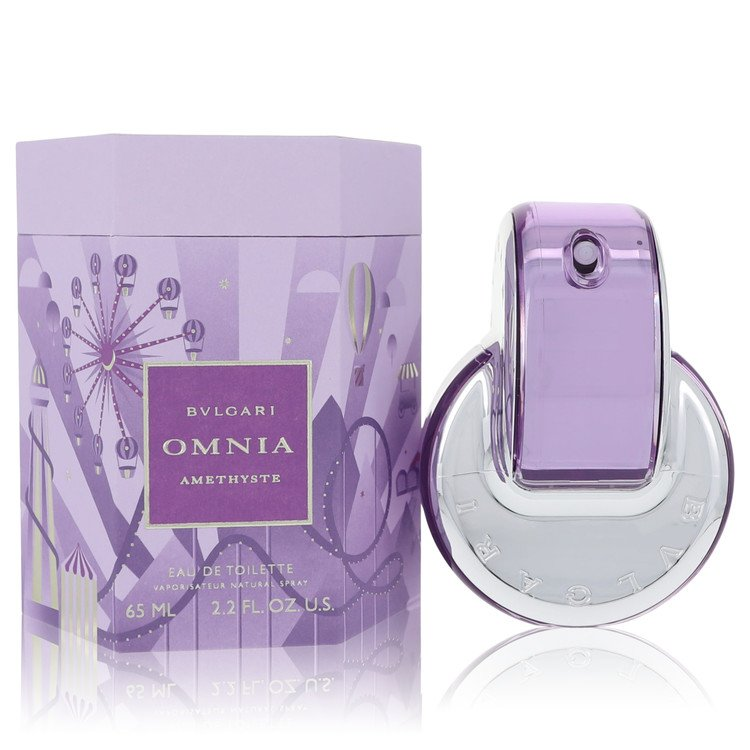 Omnia Amethyste by Bvlgari for Women Eau De Toilette Spray 2.2 oz