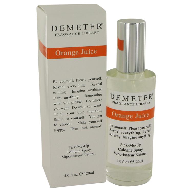 Demeter by Demeter for Women Orange Juice Cologne Spray 4 oz