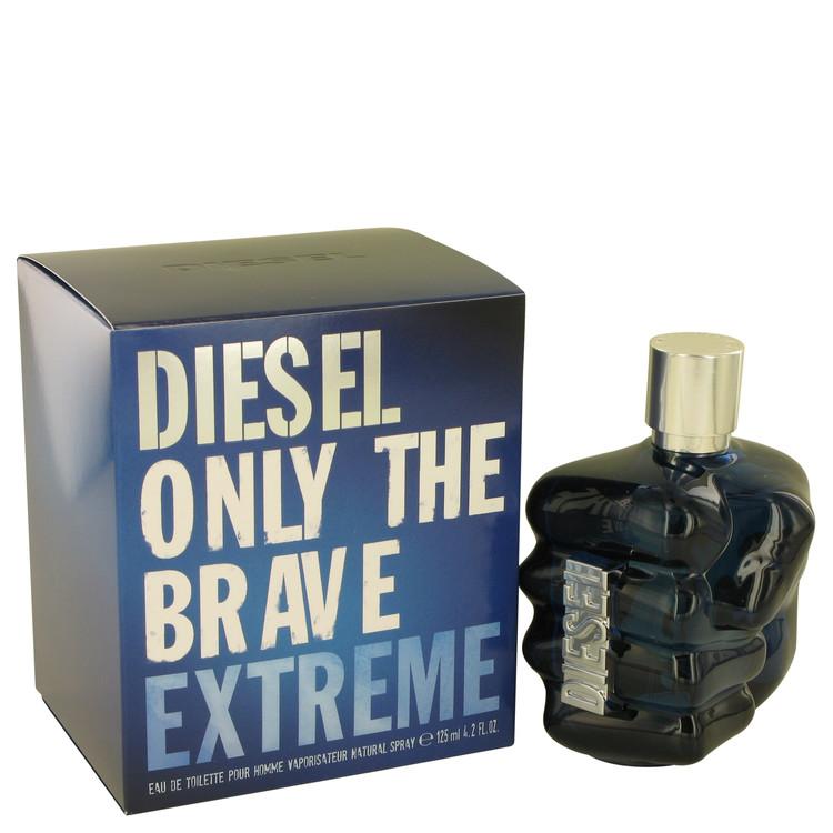 Only The Brave Extreme by Diesel for Men Eau De Toilette Spray 4.2 oz