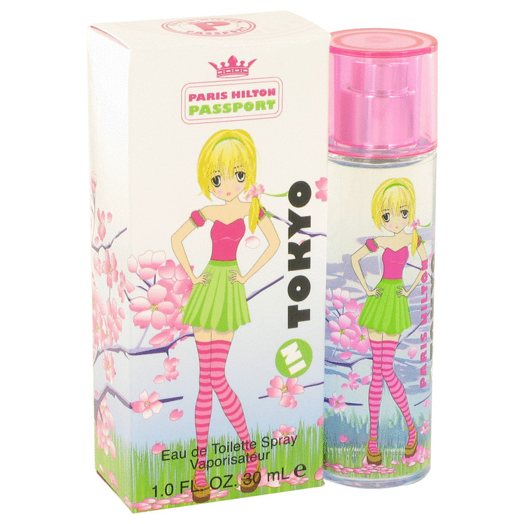 Paris Hilton Passport In Tokyo by Paris Hilton for Women Eau De Toilette Spray 1 oz