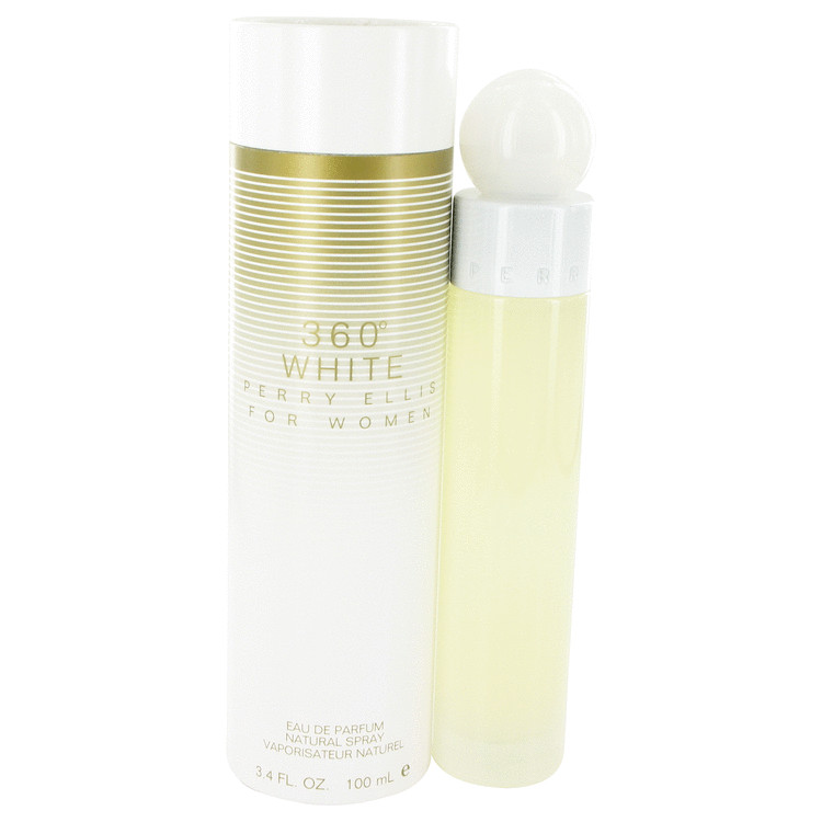 Perry Ellis 360 White by Perry Ellis for Women Eau De Parfum Spray 3.4 oz
