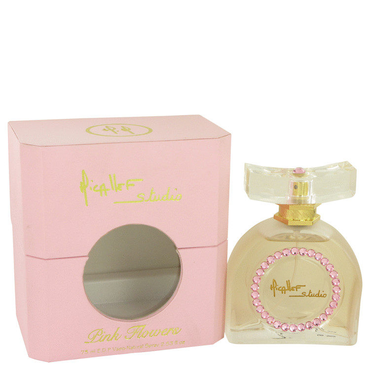 Pink Flowers by M. Micallef for Women Eau De Parfum Spray 2.53 oz