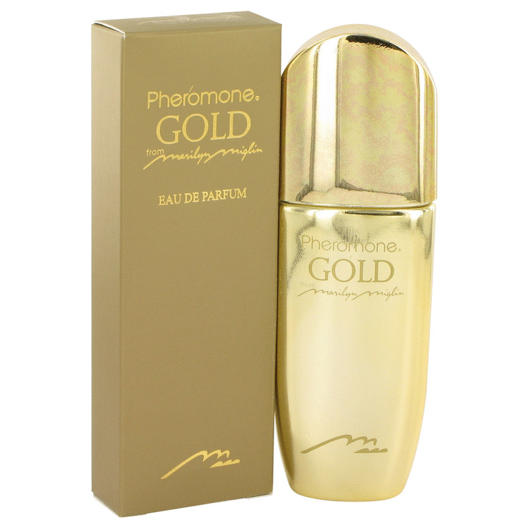 Pheromone Gold by Marilyn Miglin for Women Eau De Parfum Spray 1.7 oz